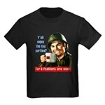 Enjoy the tea? Kids Dark T-Shirt