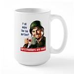 Enjoy the tea? Large Mug