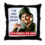 Enjoy the tea? Throw Pillow
