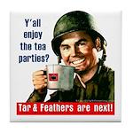 Enjoy the tea? Tile Coaster