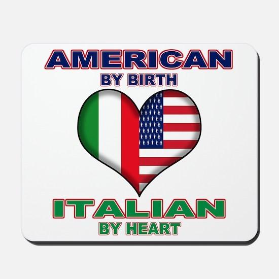 Italian american Pride Mousepad