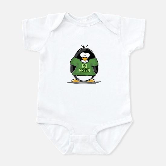 Go Green Penguin Infant Bodysuit