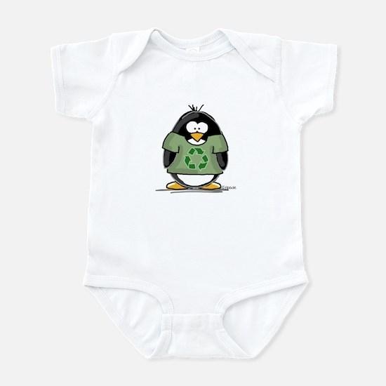 Recycle Penguin Infant Bodysuit