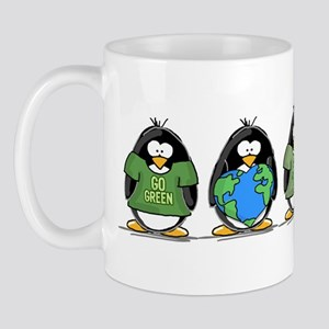 Eco-friendly Penguins Mug