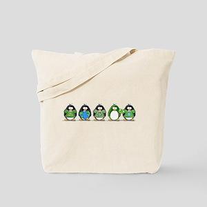 Eco-friendly Penguins Tote Bag