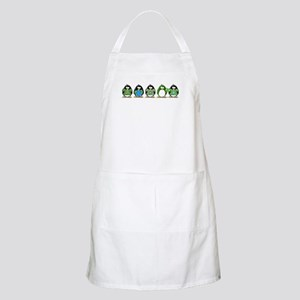 Eco-friendly Penguins BBQ Apron