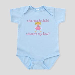 Where's My Bow? (Blonde) Infant Bodysuit