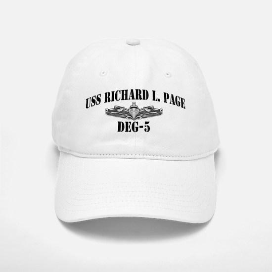 USS RICHARD L. PAGE Baseball Baseball Cap