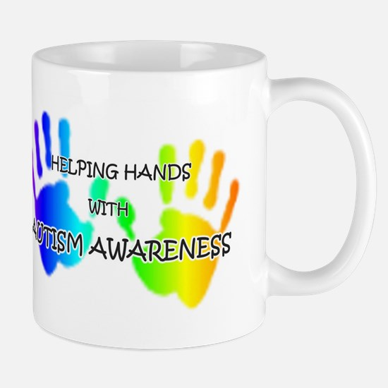 """""""Helping Hands with Autism Aw Mug"""