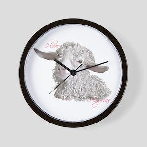 Angora Sabrina Wall Clock