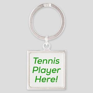 Tennis Player Keychains