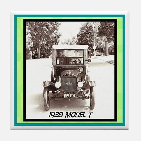 """1920 Model T"" Tile Coaster"