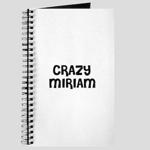 CRAZY MIRIAM Journal