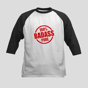 100% Pure BADASS Kids Baseball Jersey