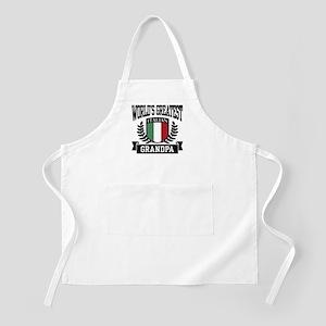 World's Greatest Italian Grandpa BBQ Apron