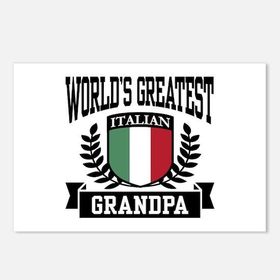 World's Greatest Italian Grandpa Postcards (Packag