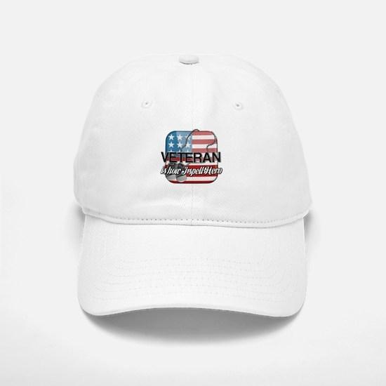 Veteran is how I spell Hero Baseball Baseball Cap