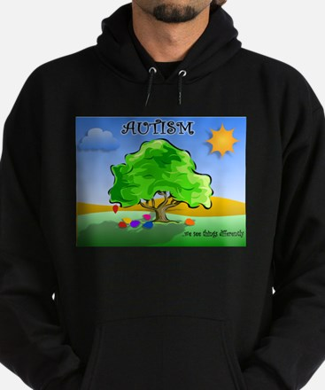 Autism - Thinking Differently Hoodie (dark)