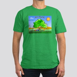 Autism - Thinking Differently Men's Fitted T-Shirt