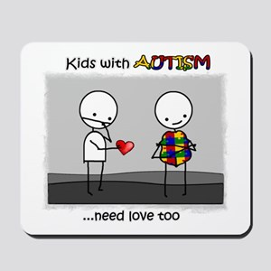 Kids With Autism Mousepad
