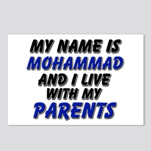 my name is mohammad and I live with my parents Pos