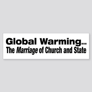 Global Warming...The Marriage of Church and State