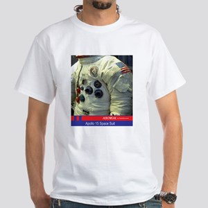 Apollo 15 Space Suit T-Shirt (white)