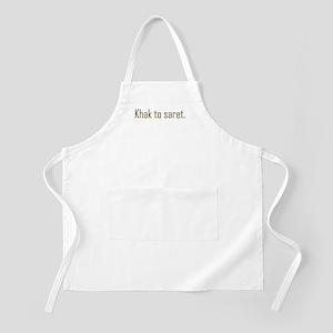 Khak to saret BBQ Apron