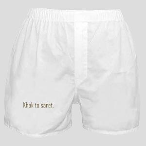 Khak to saret Boxer Shorts