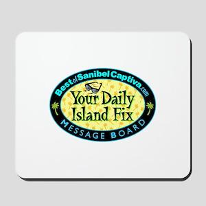 Daily island Fix Mousepad