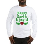 Happy Earth Day Long Sleeve T-Shirt