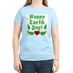 Happy Earth Day Women's Light T-Shirt
