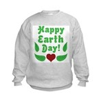 Happy Earth Day Kids Sweatshirt