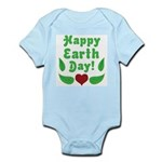 Happy Earth Day Infant Bodysuit