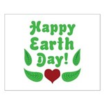 Happy Earth Day Small Poster