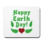 Happy Earth Day Mousepad