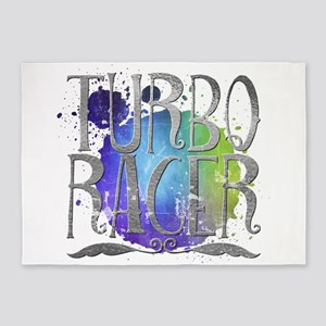 Turbo racer 5'x7'Area Rug