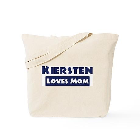Kiersten Loves Mom Tote Bag