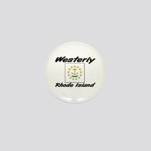 Westerly Rhode Island Mini Button