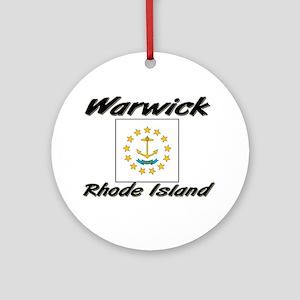 Warwick Rhode Island Ornament (Round)