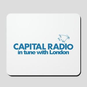 CAPITAL RADIO London 1973 -  Mousepad