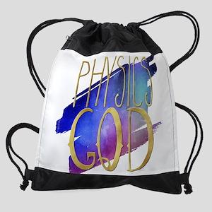 Physics God Drawstring Bag
