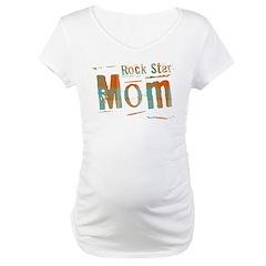 Plaid Rock Star Mom Shirt