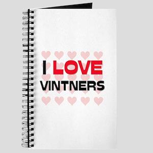 I LOVE VINTNERS Journal
