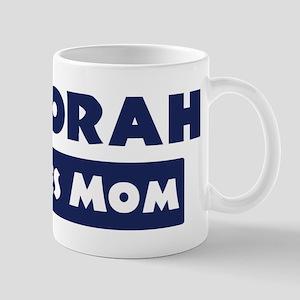Deborah Loves Mom Mug