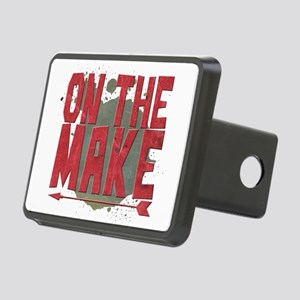 On the make Rectangular Hitch Cover