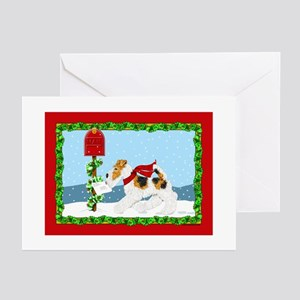 Christmas Wire Mail Greeting Cards (6) Greeting Ca