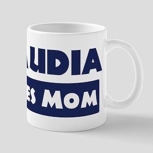 Claudia Loves Mom Mug