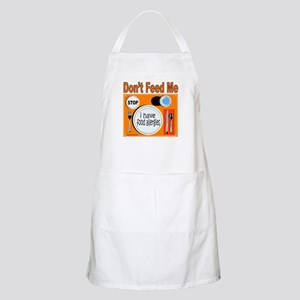DON'T FEED ME BBQ Apron