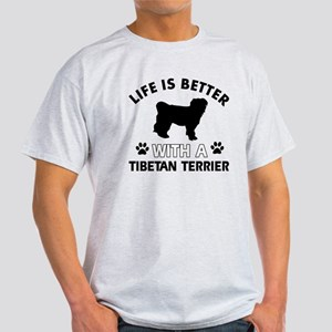 Tibetan Terrier dog breed designs T-Shirt